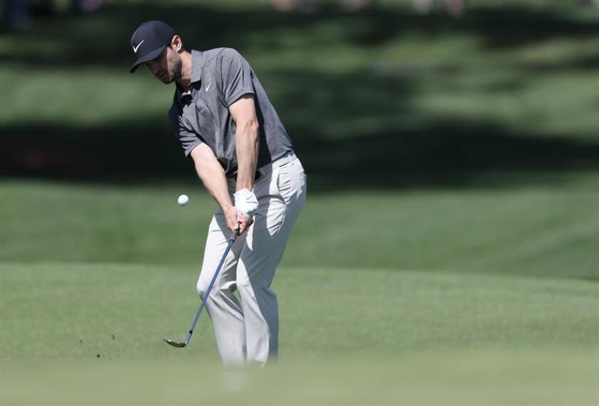 En la imagen, el golfista estadounidense Kyle Stanley. EFE/Archivo