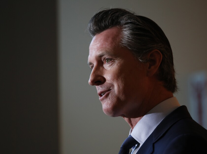 The NCAA warned Gov. Gavin Newsom in a letter Wednesday of dire consequences that could result from a bill that would allow college athletes to be paid for the use of their name, image and likeness.
