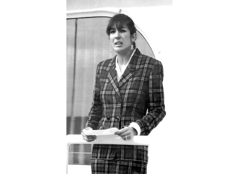 Ghislaine Maxwell in 1991