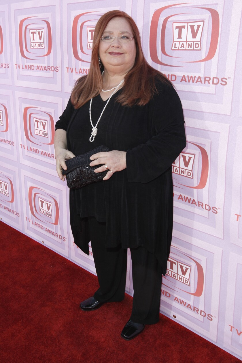 Actress Conchata Ferrell arrives at the TV Land Awards on April 19, 2009 in Universal City.