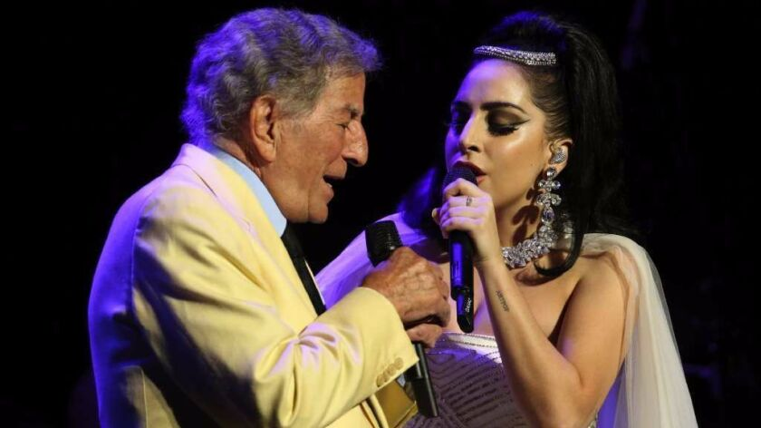Tony Bennett will perform July 12, sans Lady Gaga, his periodic musical partner.