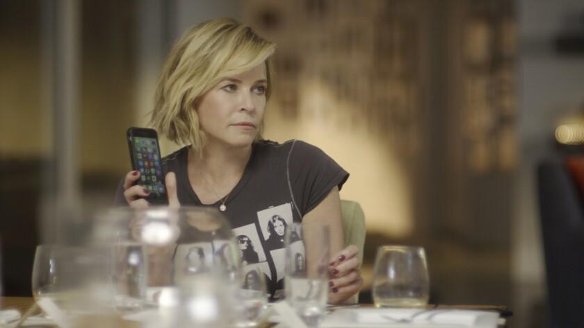 "Chelsea Handler in a scene from her docuseries ""Chelsea Does."""