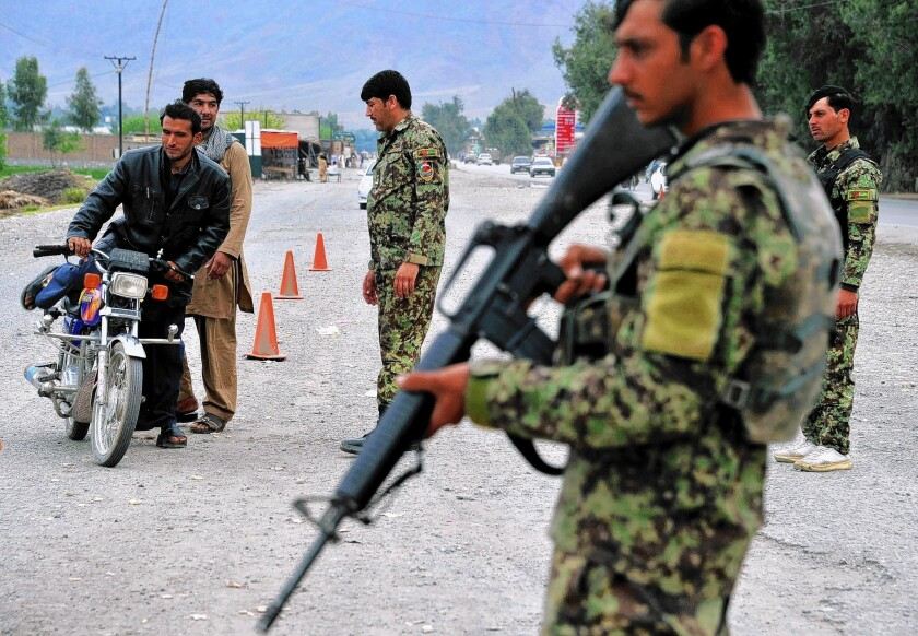 Afghan checkpoint