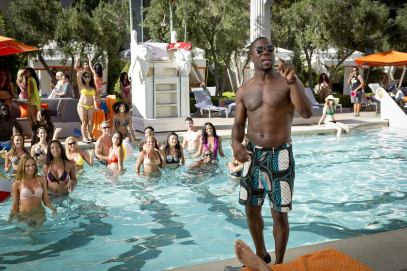 "Kevin Hart appears in a scene from ""Think Like a Man Too."""