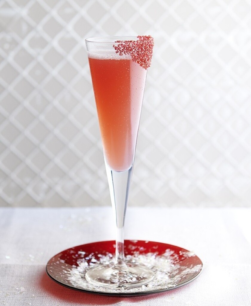 berry blush fizz