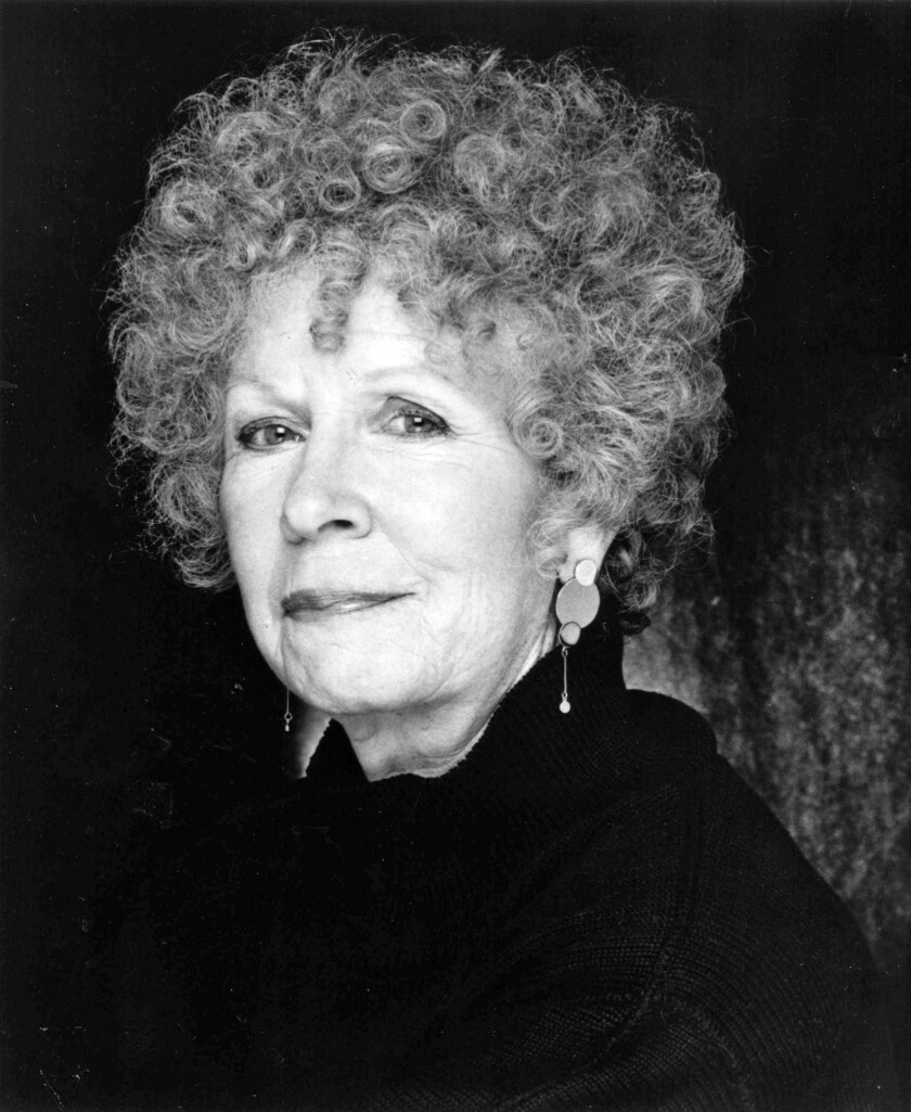 Maxine Stuart, 94, an actress who appeared on stage, film and television in a long career, died Thursday of natural causes at her Beverly Hills home. She is pictured here in 1989.
