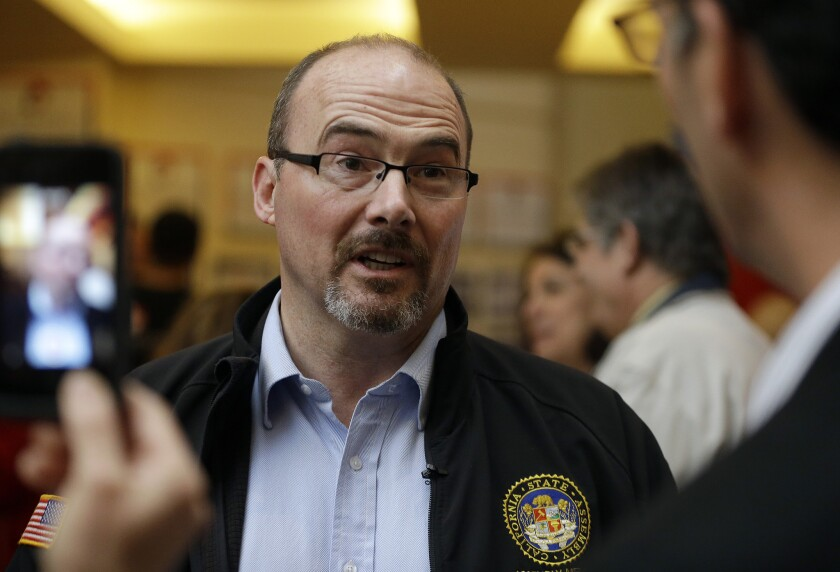 """""""I'm a threat to the country club Republicans,"""" GOP gubernatorial candidate Tim Donnelly says, as the party's establishment rallies around rival Neel Kashkari."""