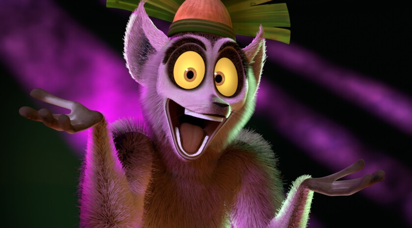 """A shot from """"All Hail King Julien,"""" which is one of the new DreamWorks Animation shows set to debut this month on Netflix and, next year, on the new Asia channel."""