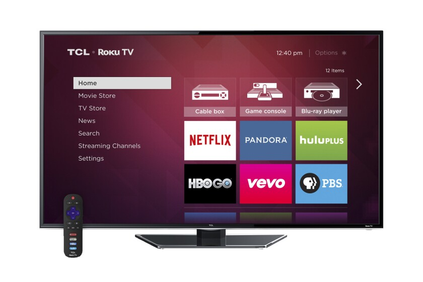 TCL is one of two TV manufacturers releasing Roku TV sets this fall.