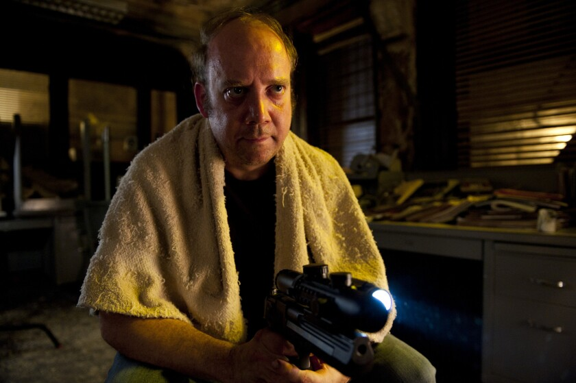 """Paul Giamatti, pictured here in the movie """"Cosmopolis,"""" will be a guest star on """"Downton Abbey."""""""