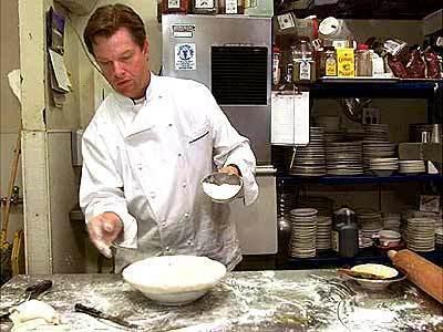 Patrick Healy makes chicken pot pie.