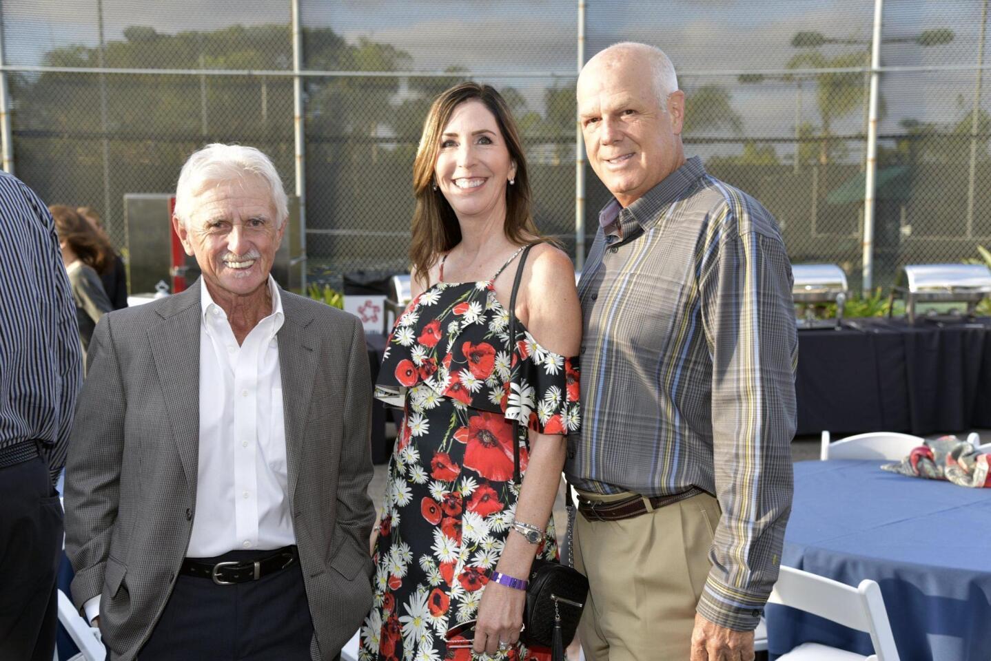 John Willis, AnnMarie and Gary Malino