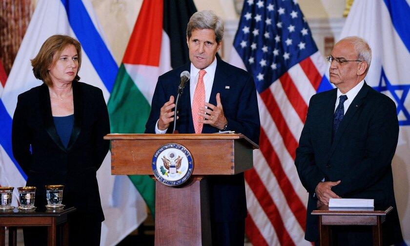 Middle East peace process talks in Washington, DC