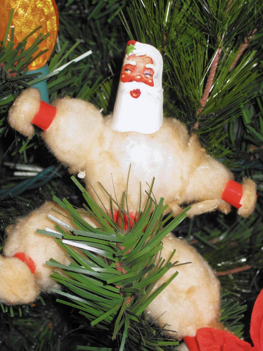 Christmas In Dixie Svg.Cotton Ball Santa Is A Cherished Member Of The Family Los