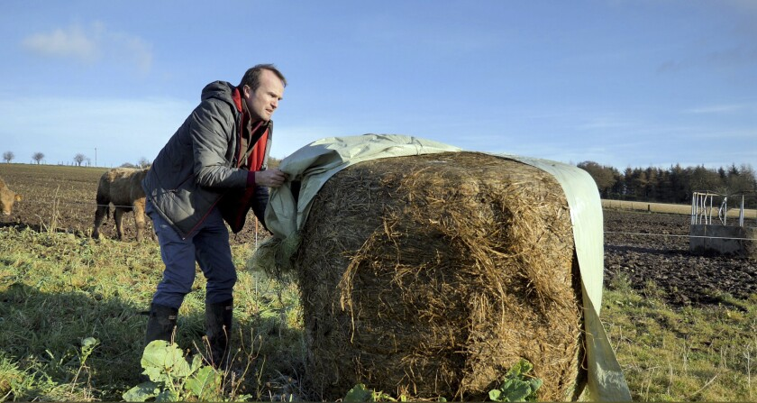 Johnnie Balfour of Balbirnie farm in Scotland.