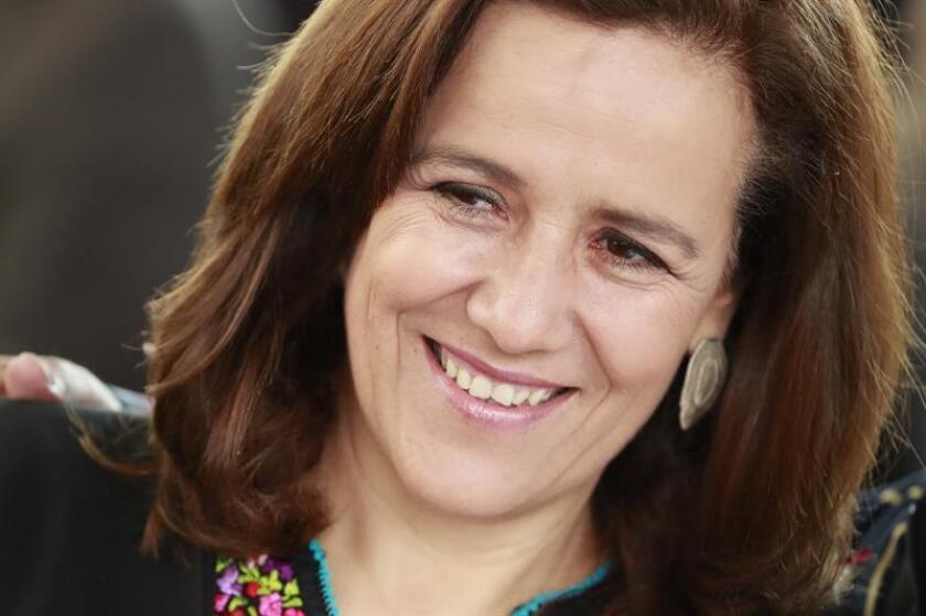 Fotografía de la ex primera dama Margarita Zavala. EFE/Archivo