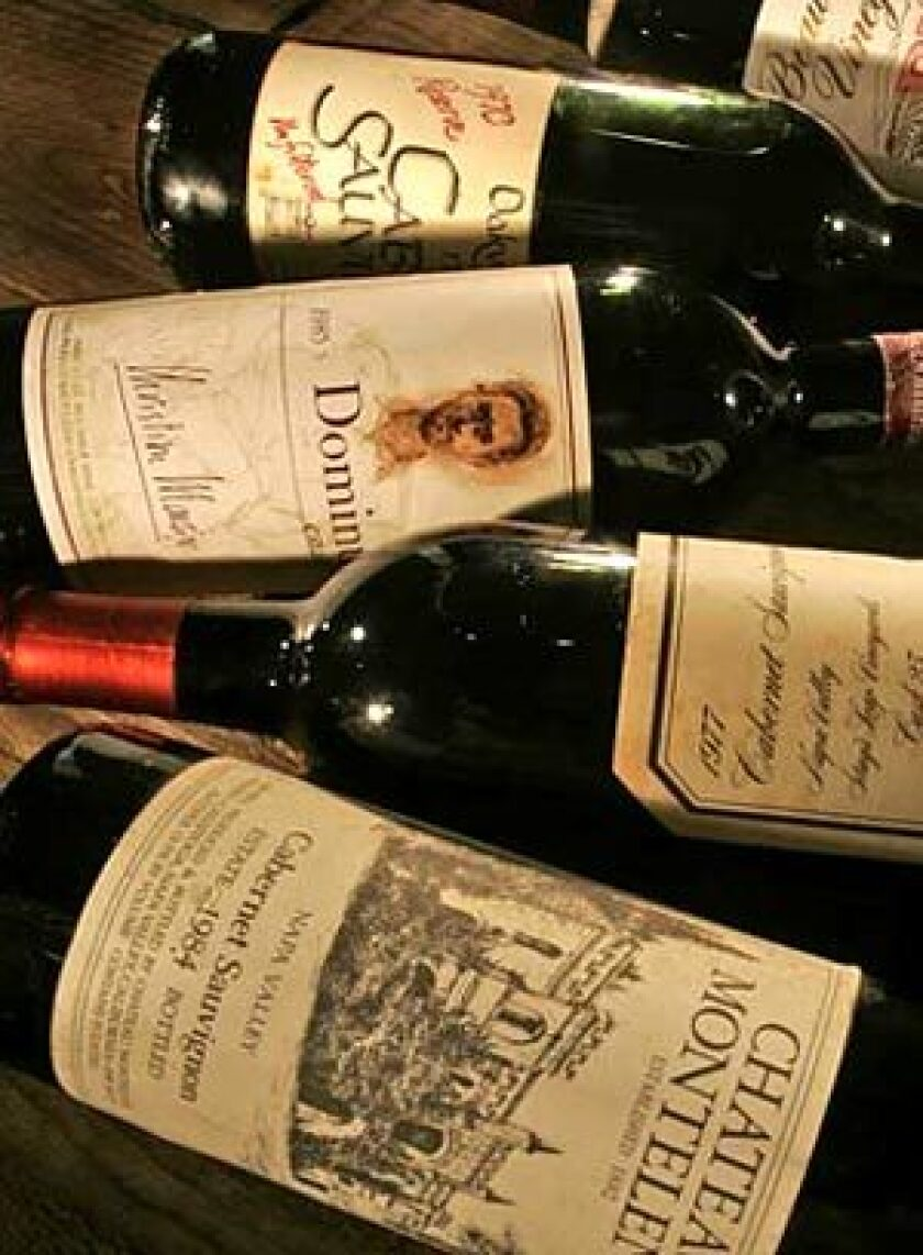 LEGENDS: In a wine auction world gone wild, bidding for pre-1986 California wines is an accessible online adventure.
