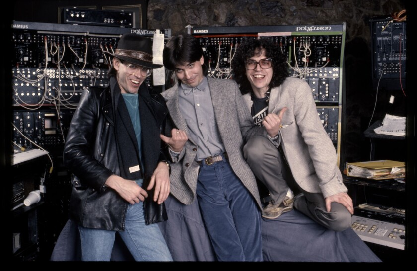 Jeff, Mike and Steve Porcaro of rock band Toto