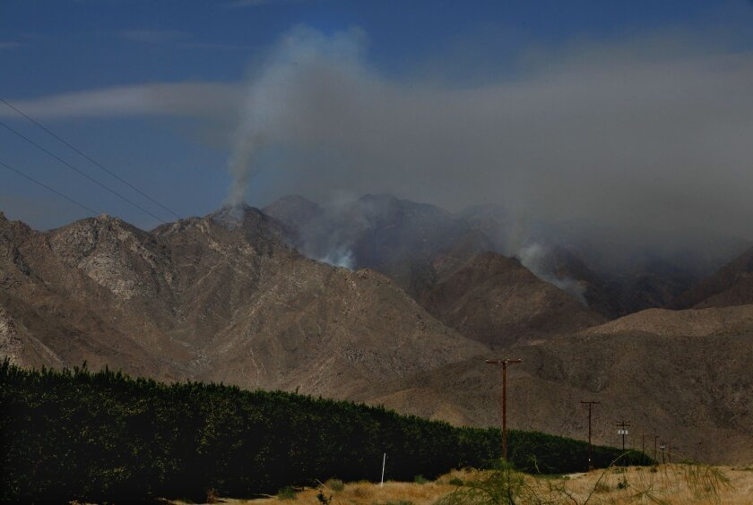 The Eagle fire burned nearly 15,000 acres on the Los Coyotes Indian Reservation and Anza-Borrego Desert State Park in July
