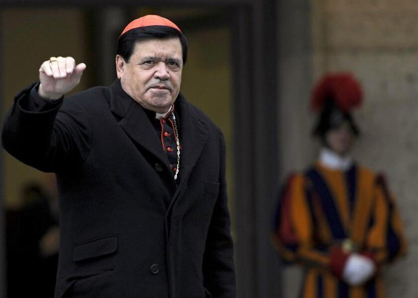 El cardenal mexicano Norberto Rivera Carrera. EFE/Archivo