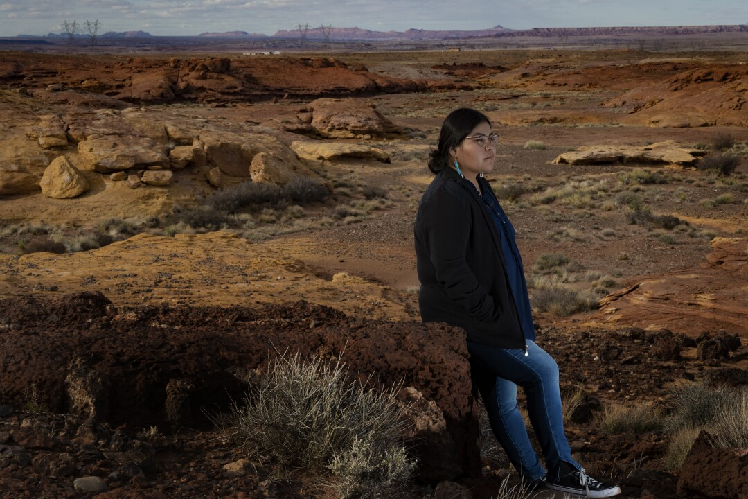 Lisa Robbins on Navajo Nation.
