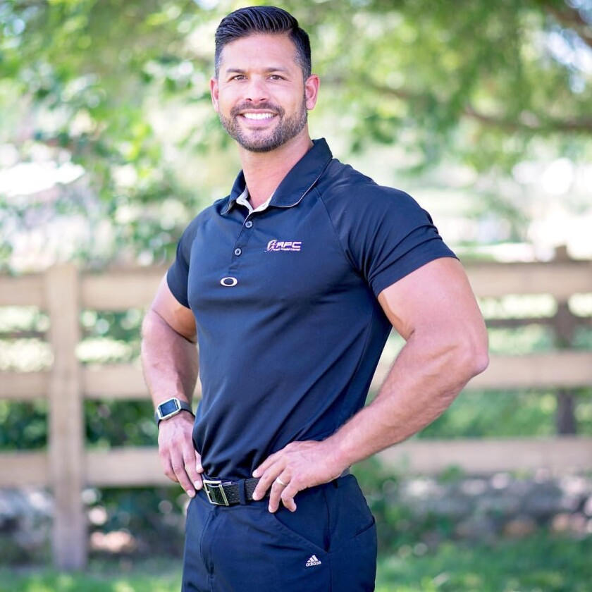 Peter San Nicolas, owner of Ramona Fitness Center.