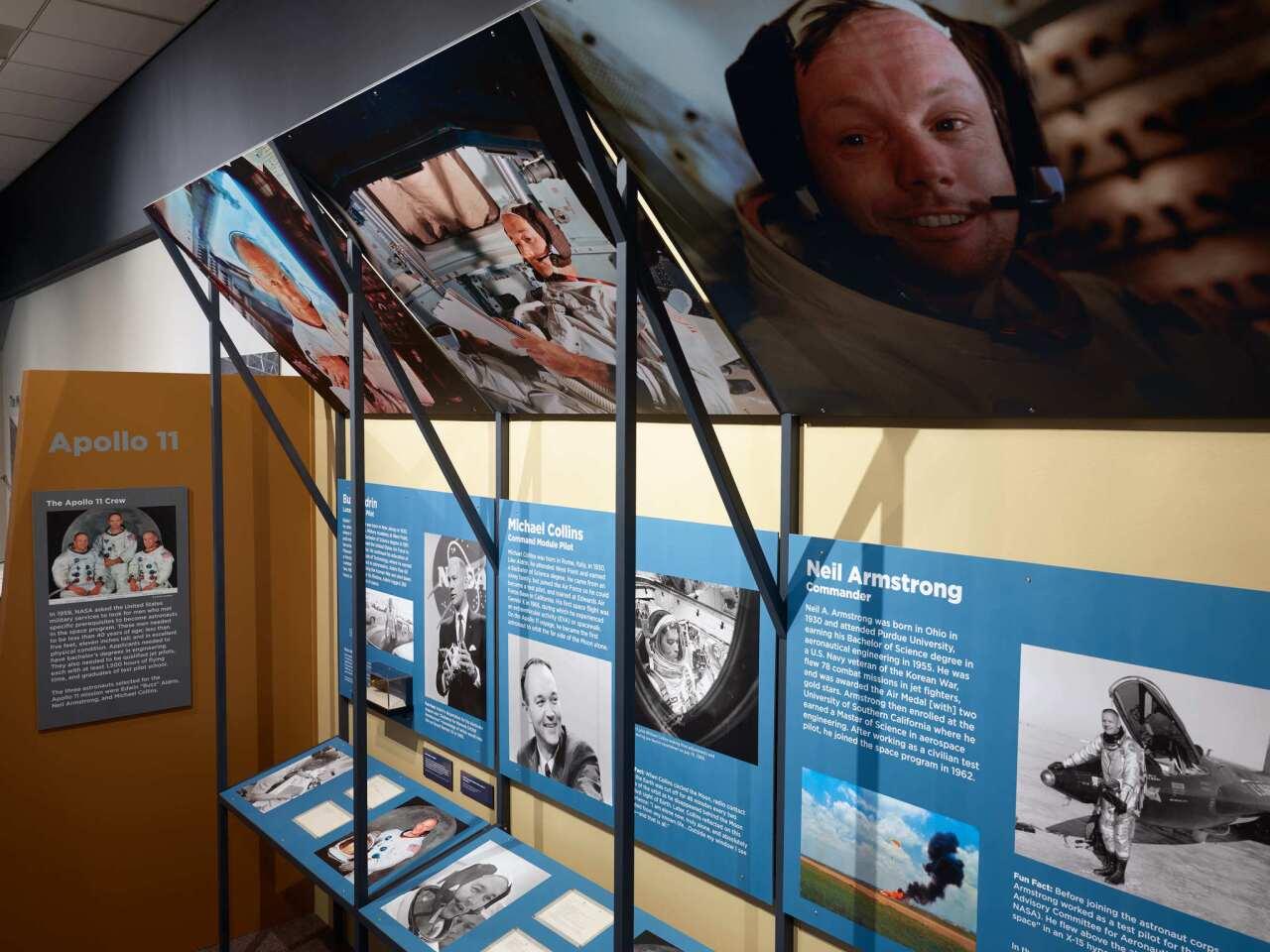 Photo Gallery: Apollo XI 50th anniversary exhibition at the Nixon Museum