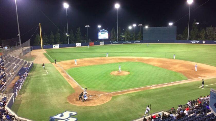 SDSU-USD baseball game