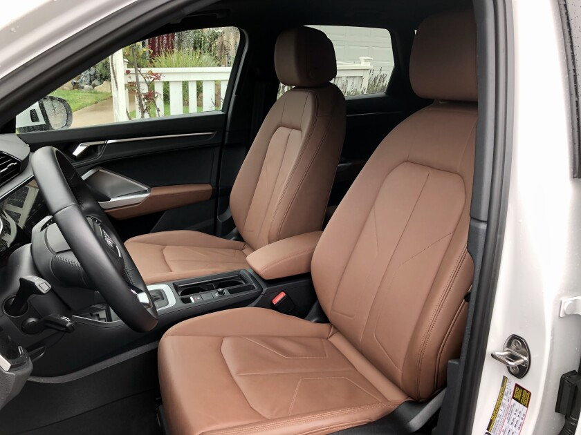 Front headroom grew by 2.6 inches, now at 39.6 inches with the standard panoramic sunroof, and almost an inch more front shoulder room.