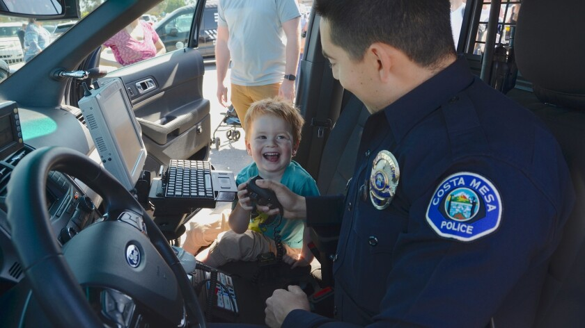 Photo gallery: Kids get in touch with trucks in Costa Mesa