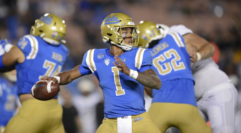 Ucla Tentative Football Schedule Includes Week 2 Game Vs Usc Los Angeles Times