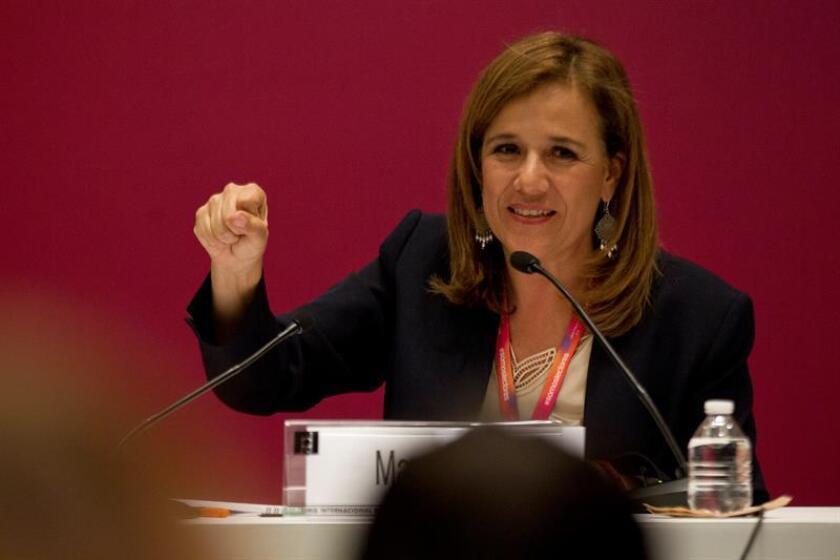 Fotografía de Margarita Zavala, la única candidata independiente a la Presidencia de México. EFE/Archivo