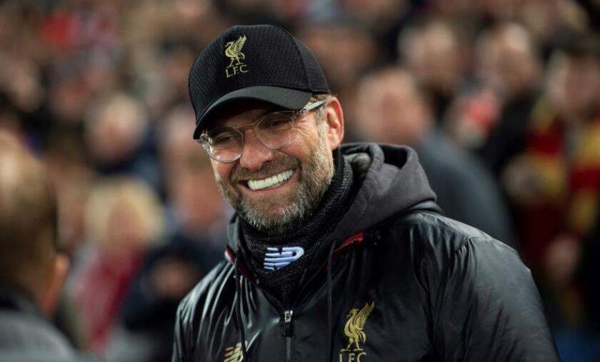 El entrenador del Liverpool, Juergen Klopp. EFE/Archivo