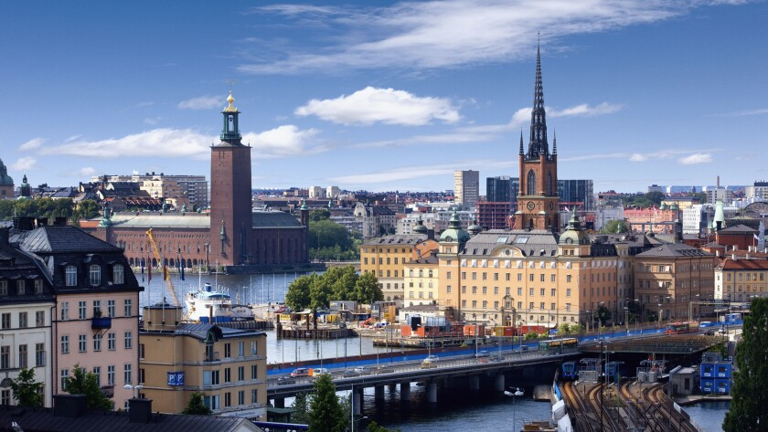 A view of Stockholm. Norwegian is offering a springtime fare of $520 round trip from LAX