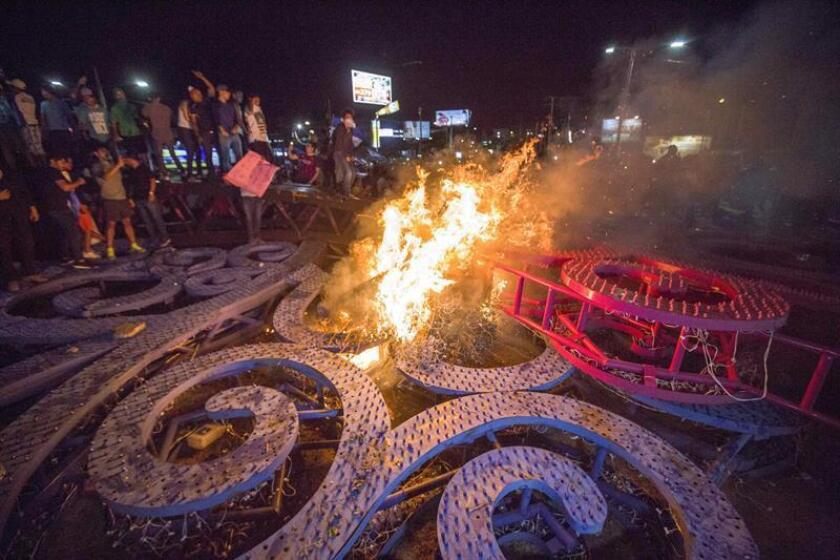 El Departamento de Estado de EE.UU. condenó hoy la violencia y el uso excesivo de la fuerza por parte de la policía de Nicaragua contra los civiles que se han manifestado a lo largo de esta semana contra la reforma a la seguridad social, unas protestas con un balance de 27 muertos, según una ONG. EFE/ARCHIVO