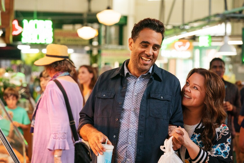 Bobby Cannavale and Melissa McCarthy in 'Superintelligence'
