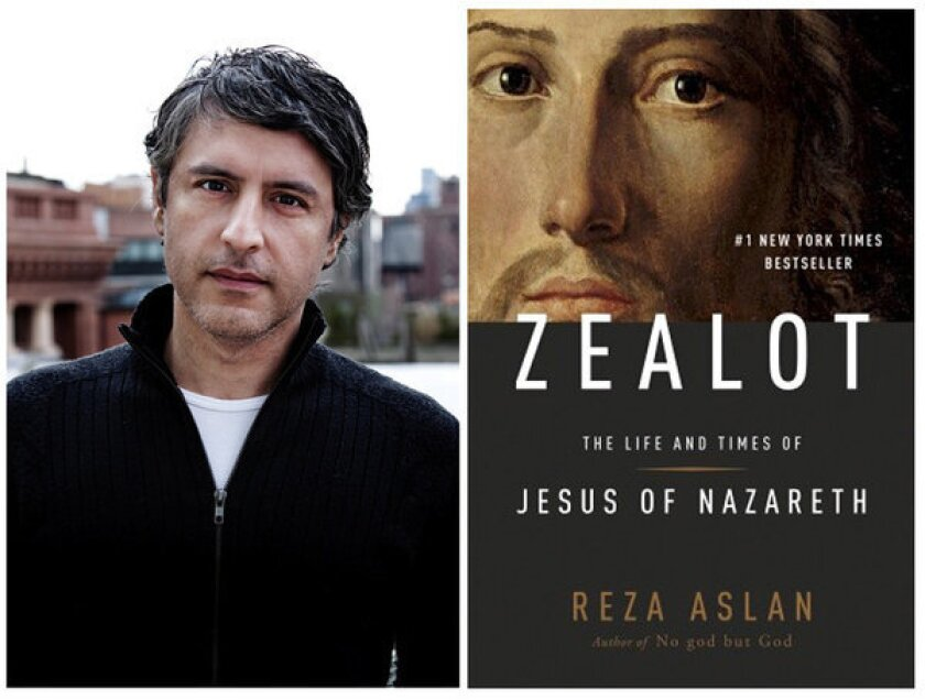 Reza Aslan talks about his new book about the life of Jesus, 'Zealot.'