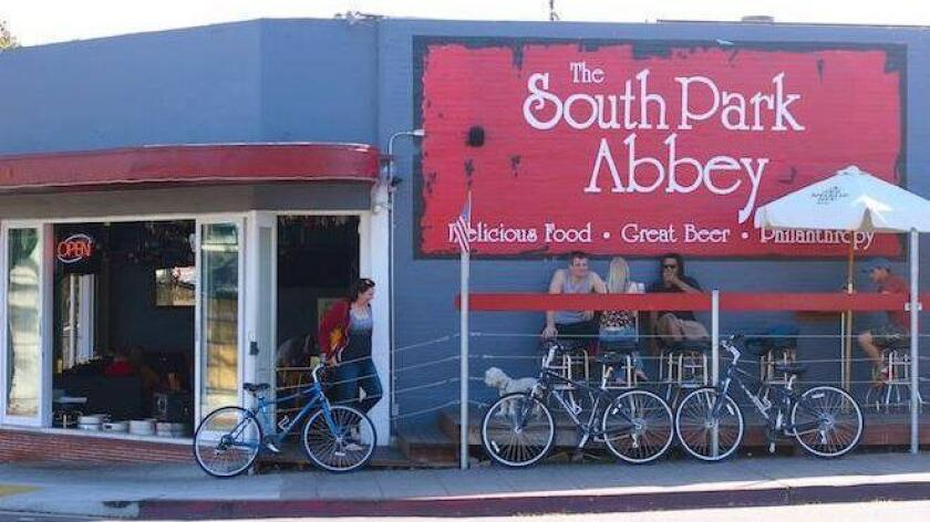 South Park Abbey, open for seven years on a high-profile corner in South Park, closed suddenly. (Courtesy of South Park Abbey)