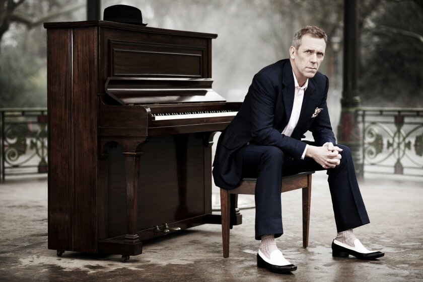 Hugh Laurie performs May 31 at the Balboa Theater, San Diego.
