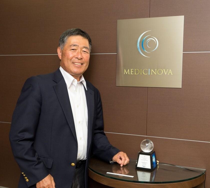 Yuichi Iwaki is the founder of biopharmaceutical company MediciNova in La Jolla.