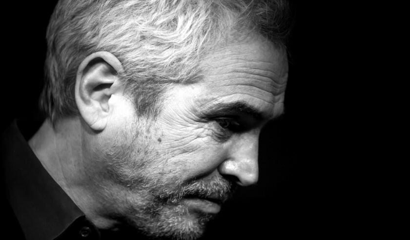 Alfonso Cuarón es homenajeado en Los Ángeles.
