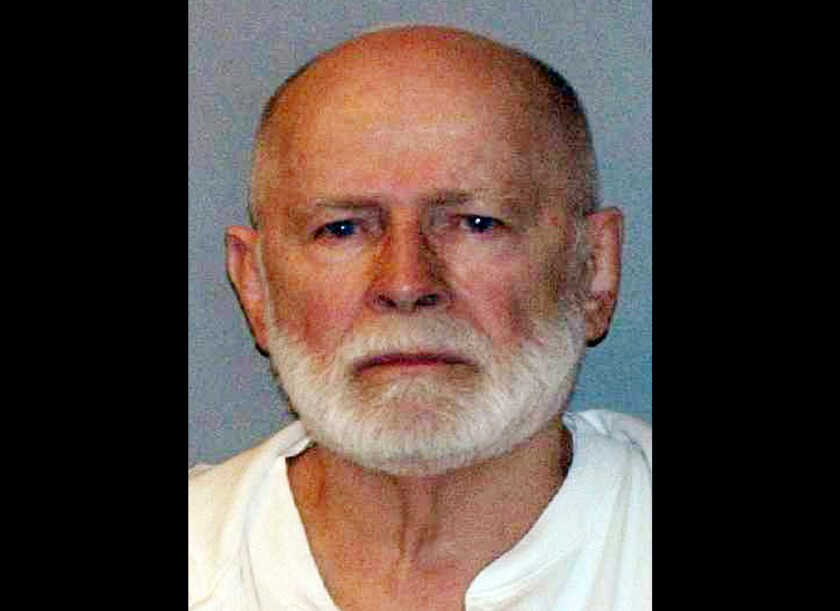 """This 2011 booking photo provided by the U.S. Marshals Service shows James """"Whitey"""" Bulger."""