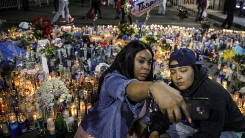 Nipsey Hussle shooting: Woman who drove getaway car faces