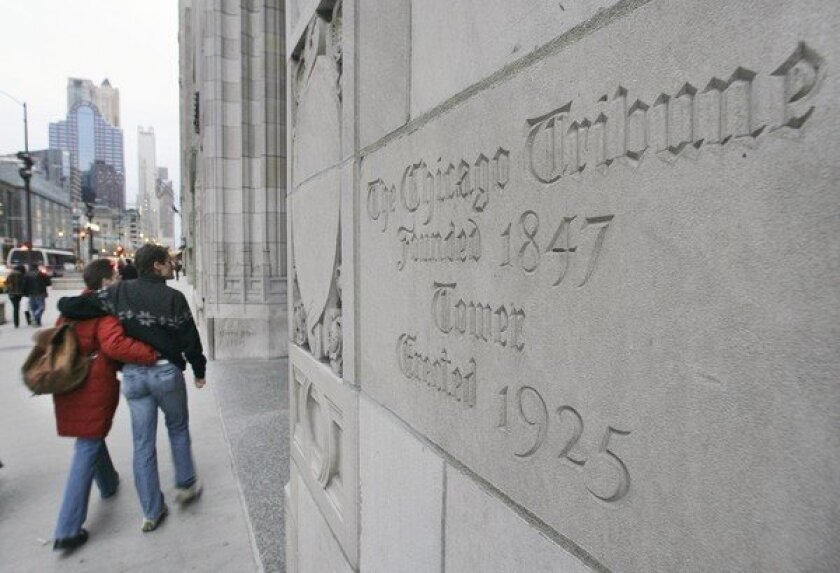 Tribune Tower in Chicago