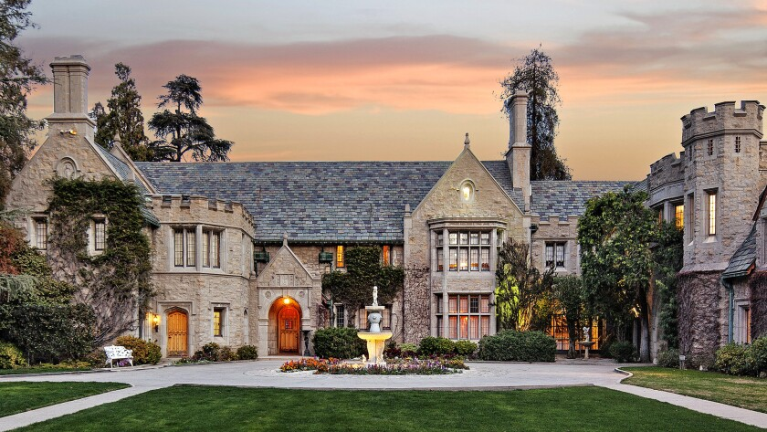 Exterior of the Playboy Mansion