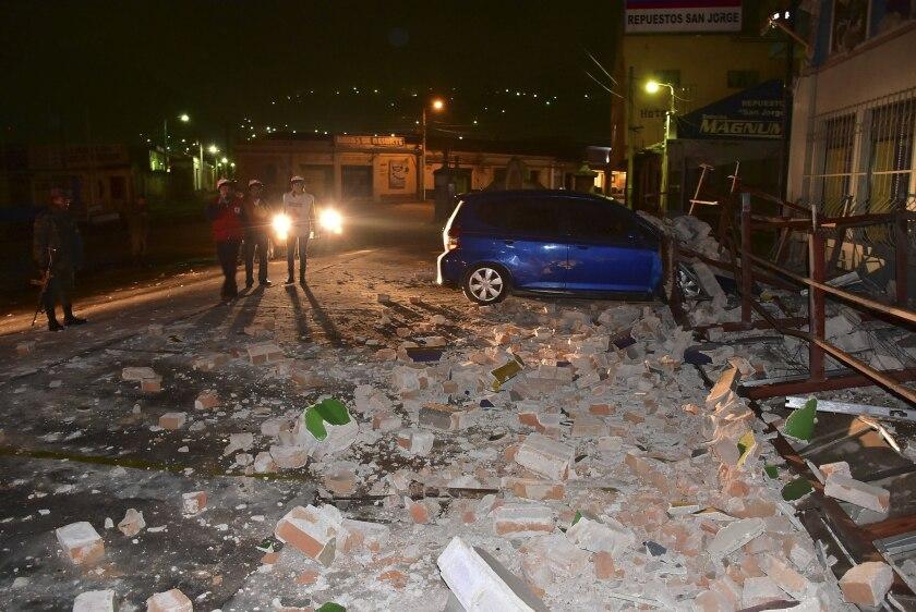 Terremoto De 6 9 Grados En Guatemala Deja Danos Menores Y Un Herido Hoy Los Angeles