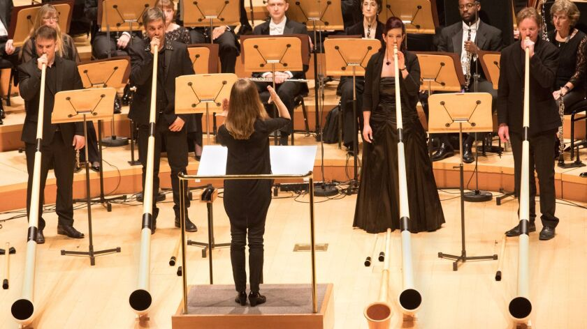 LA Phil Mirga Grazintye-Tyla conducts Mozart and Haydn Photo By: Craig T. Mathew/Mathew Imaging