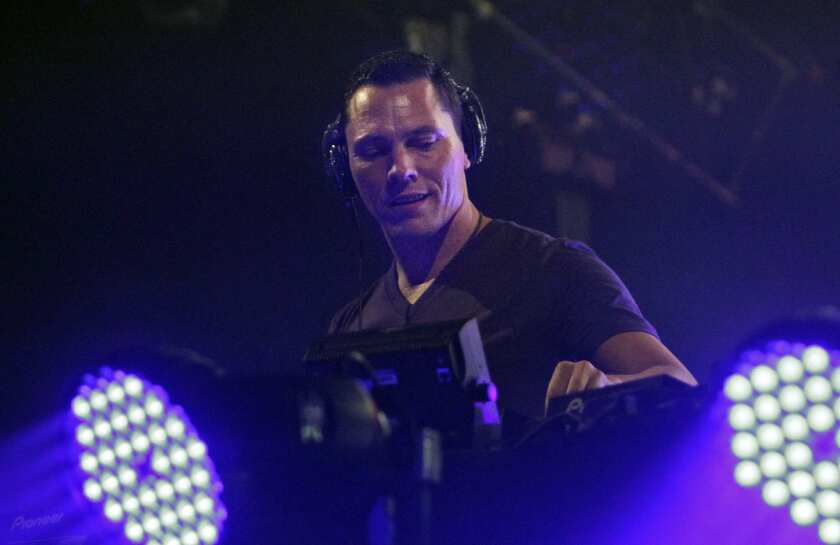 CHARGED UP: DJ Tiesto drew 6,500 to his San Diego show. The average ticket price for one of his shows was $58.10, more than a ticket to see Bob Dylan cost.