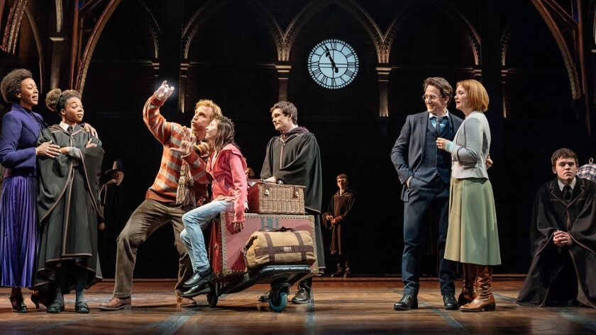 """A scene on Platform 9ae in """"Harry Potter and the Cursed Child""""(Manuel Harlan ) ** OUTS - ELSENT, FPG"""