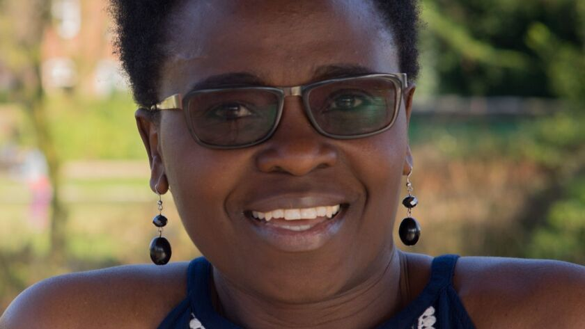 """An author photo of Jennifer Nansubuga Makumbi for her book """"Let's Tell This Story Properly."""" Credit"""